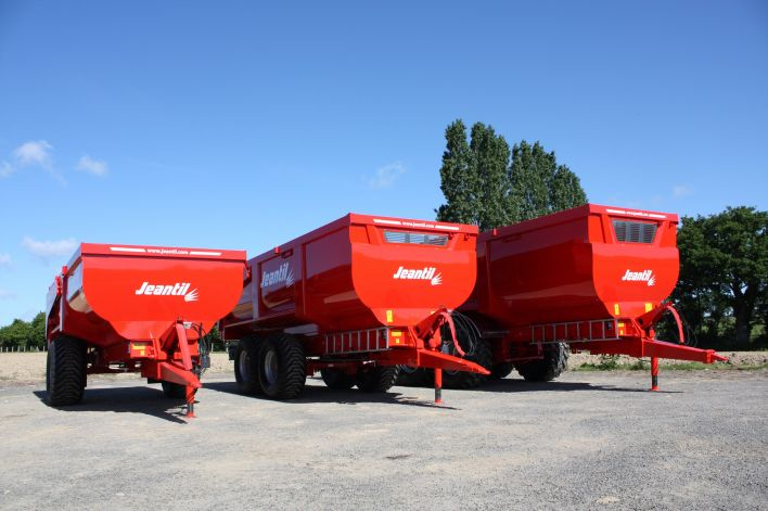 The range of BR and TP dumpers