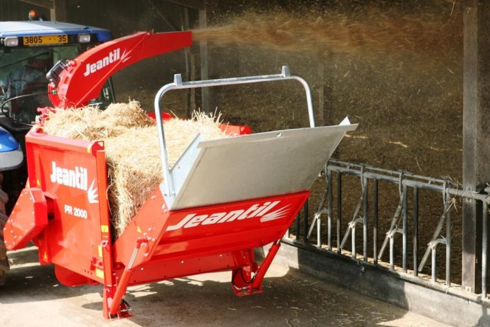 The range of straw blowers